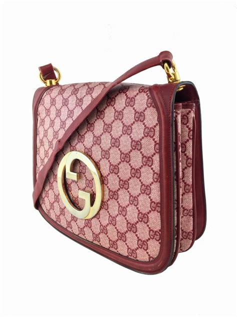 consigned designs gucci handbags red vintage monogram