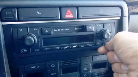 Audi Concert Radio by Removing Audi Concert Stereo Radio Without Original Key