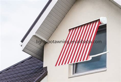 retractable aluminum awnings slide wire cable awnings superior awning patio pinterest