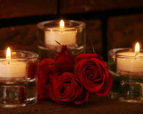 candele rosse roses and candles 021 2560x1600 hd wallpaper
