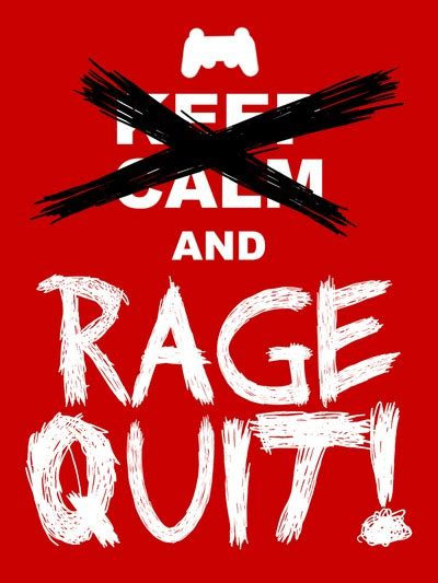 Rage The Gaming Things That Make You Rage