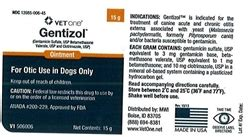gentizol for dogs gentizol ointment l topical antibiotic for pets medi vet