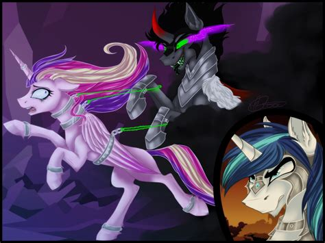 king sombra x shining armor bildresultat f 246 r princess cadence x king sombra my