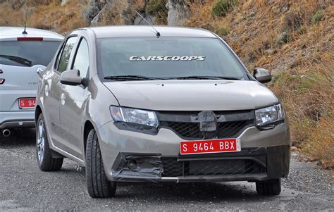 renault logan 2016 scoop dacia could be working on sporty logan carscoops