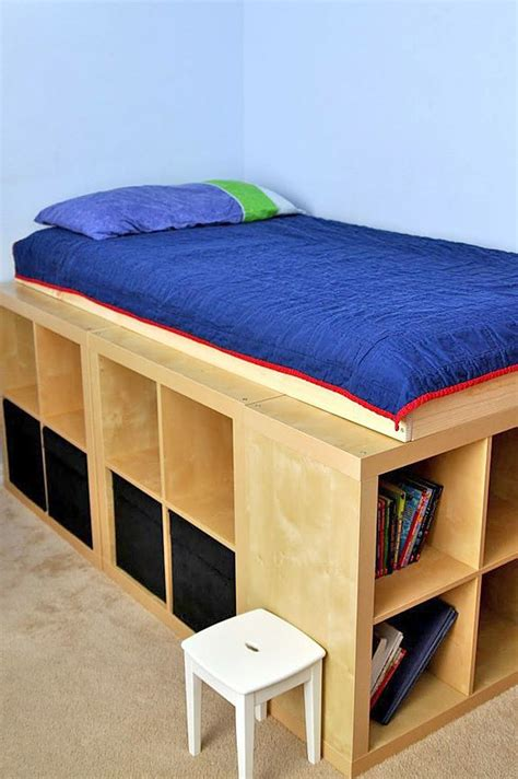 diy ikea storage bed storage solutions all around the house diy storage bed