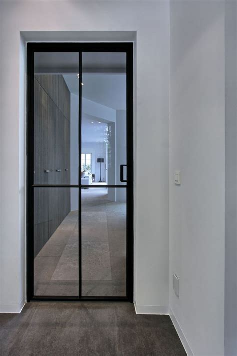 Interior Door With Window 25 Best Ideas About Interior Glass Doors On Glass Door Designs