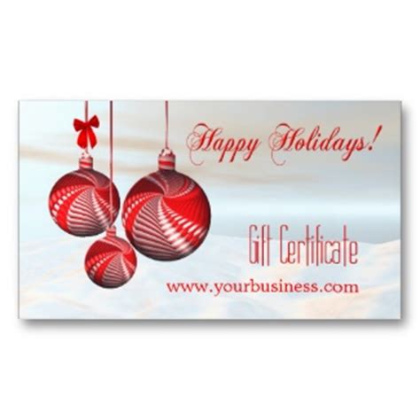 Gift Certificates, Gift Vouchers and templates in business
