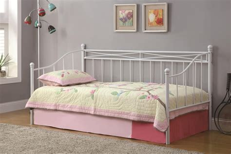 White Metal Frame Toddler Bed Bed Design White Metal Frame Bed Kid Boy Classic Simple