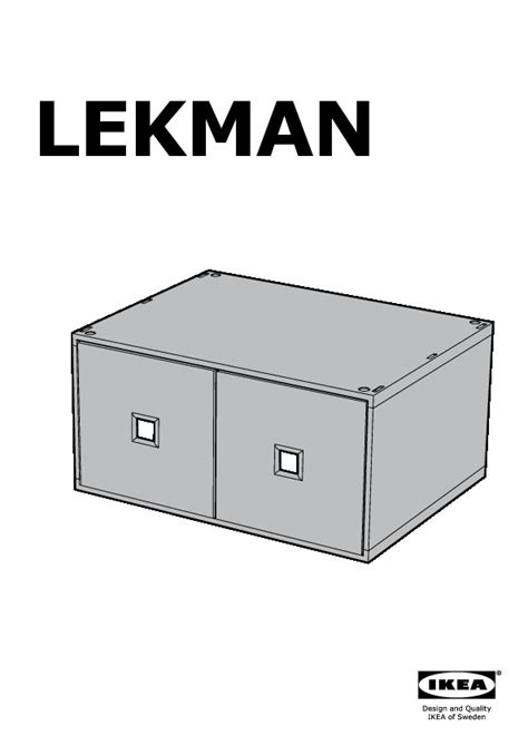 Mini Commode by Ikea Mini Commode