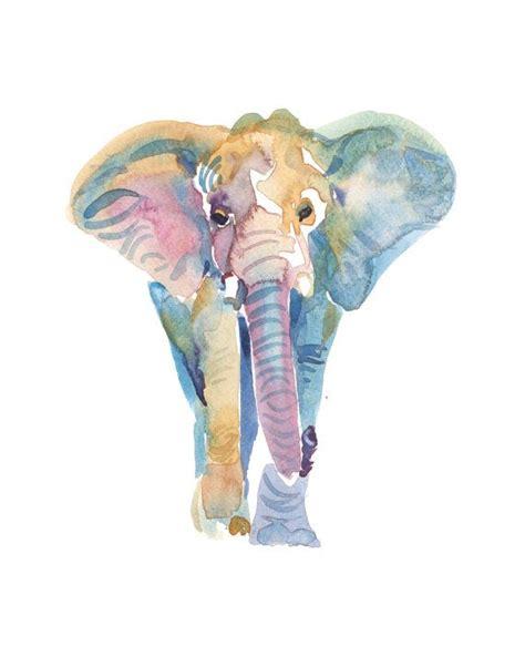 elephant tattoo portrait best 25 elephant watercolor ideas on pinterest elephant