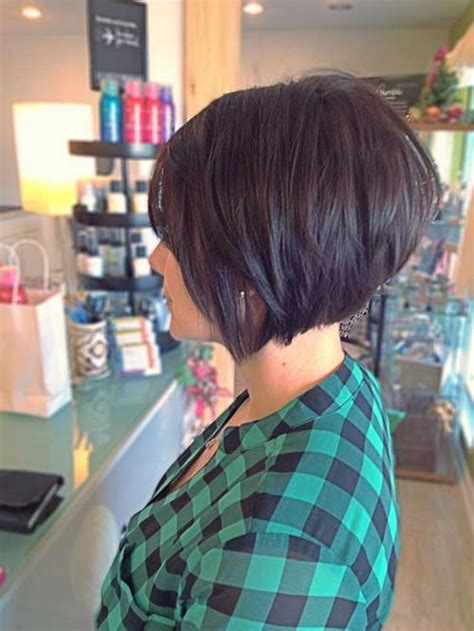 high back bob pictures of short stacked hairstyles front and back
