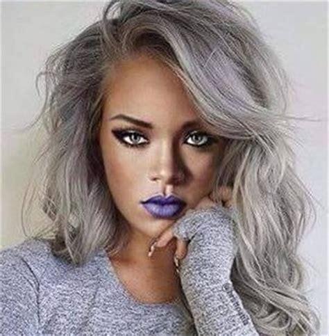 imgenes de cabellos teidos de gris la moda en tu cabello color de cabello gris 2015 2016