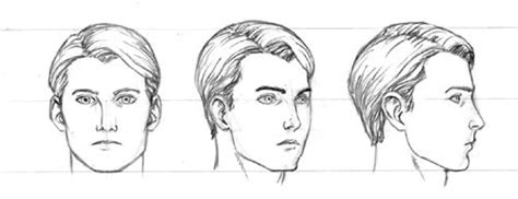 line art portrait tutorial tutorial male head draw head pinterest drawing