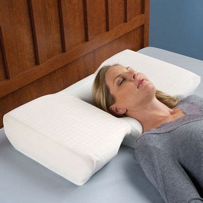 the best pillow to sleep on the neck relieving pillow help sleepers maintain