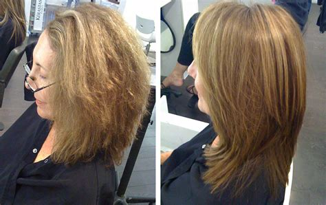 will keratin treatments thicken my hair keratin treatment before and after curly hair www imgkid