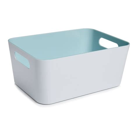 wilkinson bathroom storage wilko bathroom caddy aqua and white at wilko