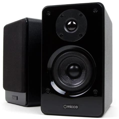 New Micca Grey micca club 3 bookshelf speakers with 3 5 inch carbon fiber