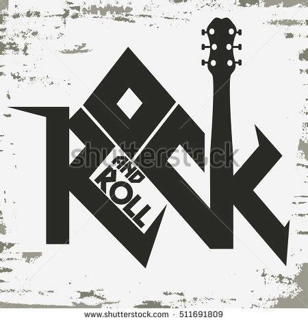 design t shirt rock vector rock roll music grunge print vintage stock vector