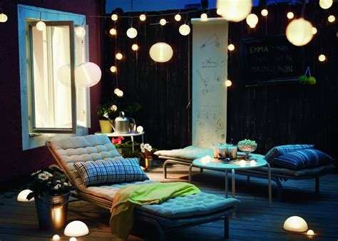 eclairage terrasse marie claire maison