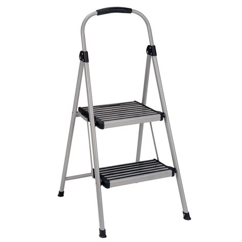 Cosco Two Step Stool by Shop Cosco 2 Step Steel Step Stool At Lowes