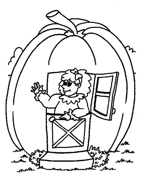 peter peter pumpkin eater coloring page coloring home