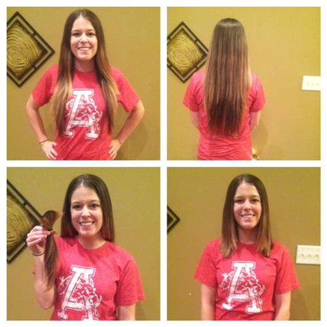 hairstyles for the women who donated their hair for wigs i m donating my hair to locks of love