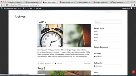 page layout for blog how to configure page layout blog layout and post layout