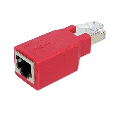 Converter Usb To Utp rj45 crossover adapter cat 5e stp utp from lindy uk