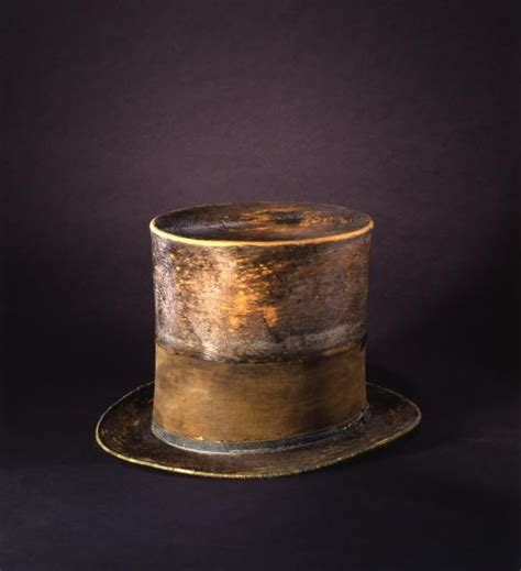 a closer look at president lincoln s silk hat national