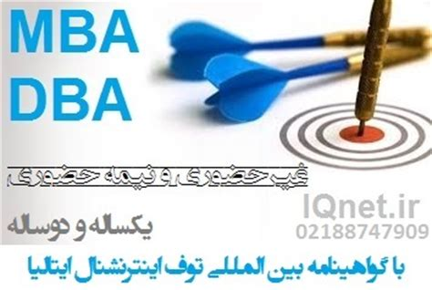 Mba Or Dba by Iqnet Tuv International