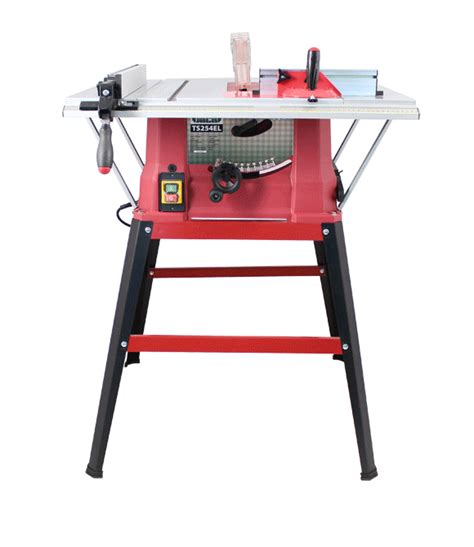 tradesman bench table saw lumberjack 10 quot bench table saw with blade 3 extensions