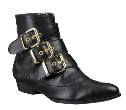 target black boots dolce vita for target buckle ankle boots in black 171 shefinds