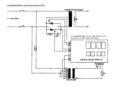 spot welding machine diagram wiring diagram with description