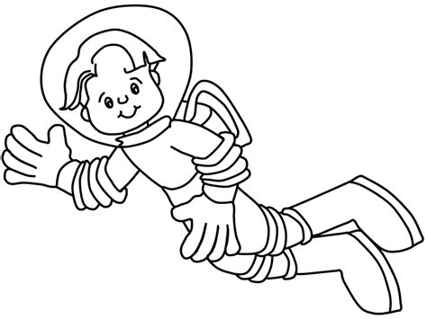 Astronaut Coloring Pages Astronaut Coloring Pages