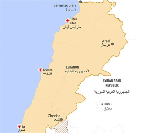 middle east map lebanon lebanon syrian refugees fifth winter away from home