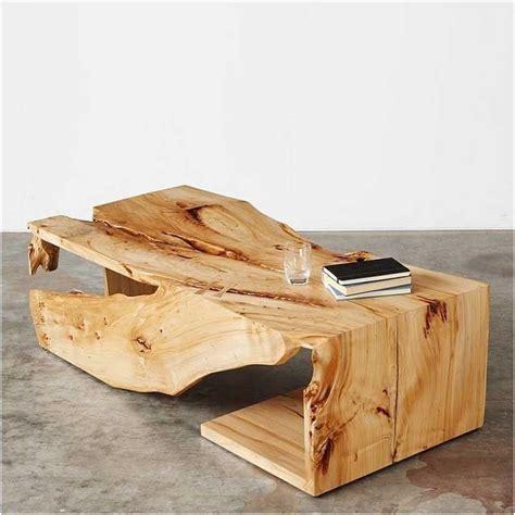 wohnzimmermöbel aus holz bild couchtisch aus holz design ideen zum inspiration