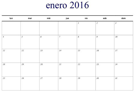 Calendario 2016 Mes A Mes | calendario 2016 mes a mes new style for 2016 2017