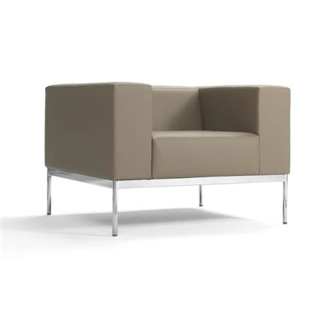 non upholstered sofa square armchair upholstered with non deformable foam