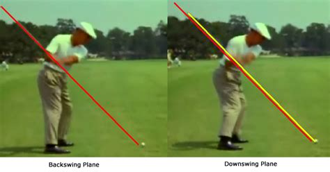 ben hogan swing down the line the perfect golf swing is dead