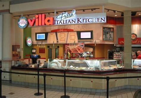 Kitchen Mall by Villa Fresh Italian Kitchen Restaurantnewsrelease