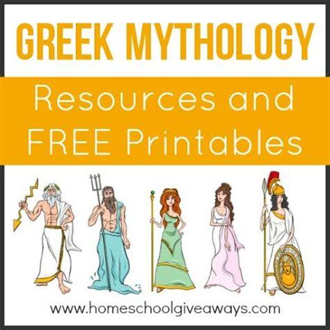 ancient greek gods mythology free video clips greek mythology resources and free printables free