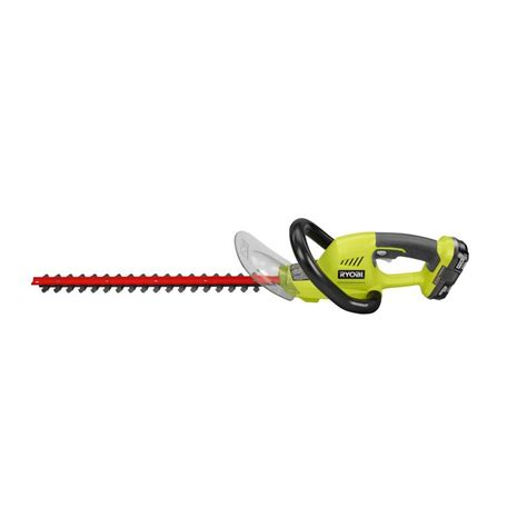 home depot paint trimmer ryobi reconditioned one 18 in 18 volt lithium ion