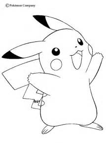 Pokemon Coloring Pages  Pikachu Kentscraft sketch template