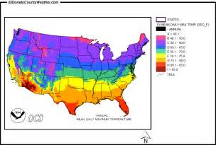 temp map united states yearly monthly daily maximum temperatures