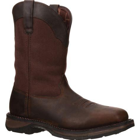 Country Boots 040 workin rebel by durango waterproof western boot dwdb040