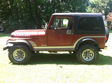 jeep cj laredo 1985 jeep cj7 laredo sport utility 2 door 4 2l classic