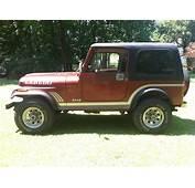 1985 Jeep CJ7 Laredo Sport Utility 2 Door 42L  Classic