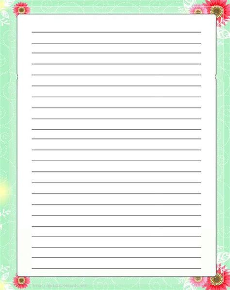 printable lined paper for mother s day pinterest the world s catalog of ideas