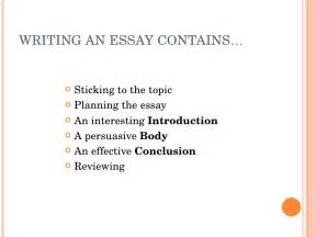 How To Write An Essay For by Forum Learn Fluent Land