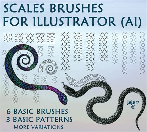 ai pattern scale scales brushes for illustrator ai by jojo ojoj on deviantart